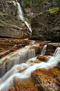 Adam Jewell - Virginia Falls Red Rock Streams