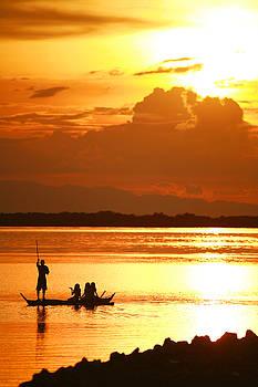 Visayan Sunset by Ross Throndson