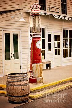 Visible Gas Pump by Randall  Cogle