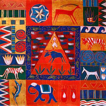 Vision of India by Aliza Souleyeva-Alexander