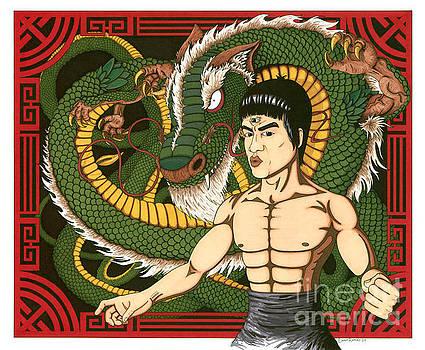 Visionary Bruce Lee by Daniel Ramirez