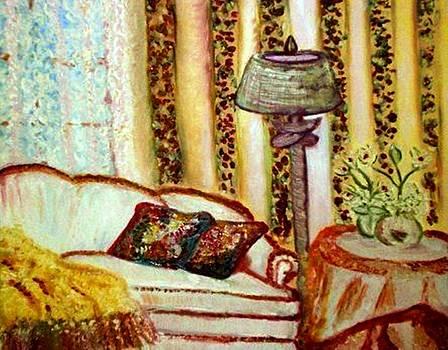 Visiting Nana's Home by Helena Bebirian