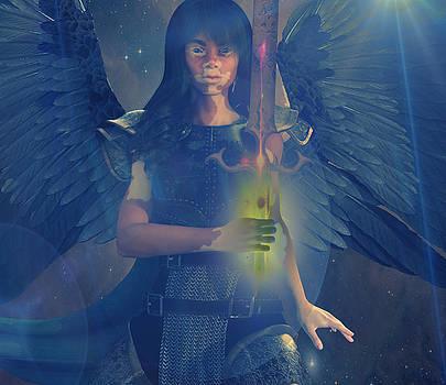 Vitiligo Angel by Suzanne Silvir