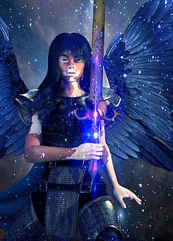 Vitiligo Angel2 by Suzanne Silvir