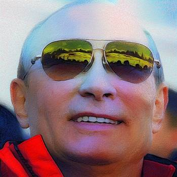 Vladimir Putin by Vincent Monozlay