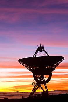 VLBA at sunrise 2 by David Nunuk