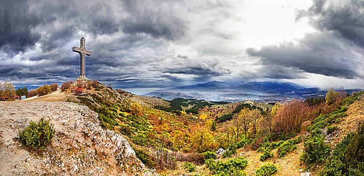 Vodno mountain by Ivan Vukelic