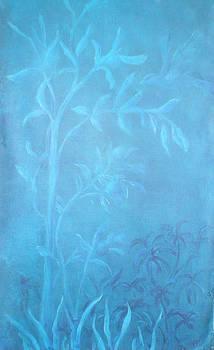 Vol de nuit         Dans mon jardin 2 by Margot Koefod