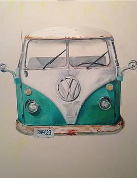 Volkswagen Bus 2 by Paulina Lwowska