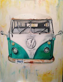 Volkswagen Bus 3 by Paulina Lwowska