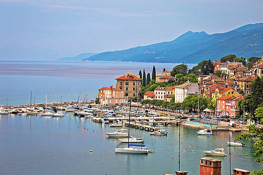 Volosko and Opatija waterfront view by Dalibor Brlek