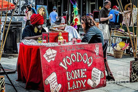 Kathleen K Parker - Voodoo Bone Lady - NOLA