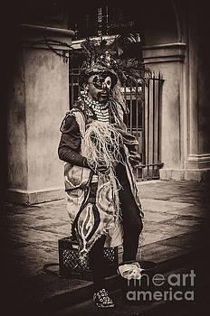 Kathleen K Parker - Voodoo Mime- NOLA