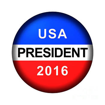 Vote Button President by Henrik Lehnerer