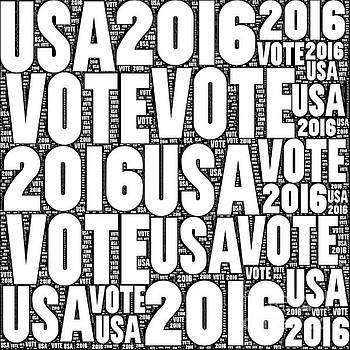 Vote USA 2016 by Henrik Lehnerer