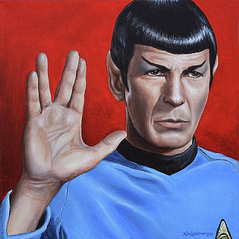 Vulcan Farewell by Kim Lockman