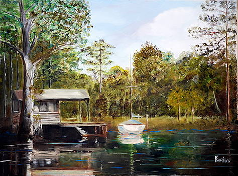 Waccamaw River Sloop by Phil Burton