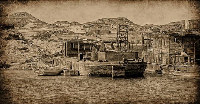 Wadi es Sebua by Nigel Fletcher-Jones