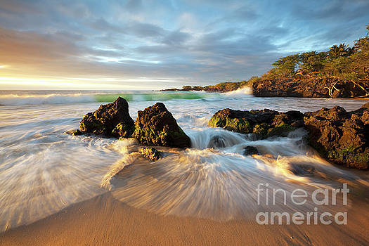 Waialea Bay Seascape by Charmian Vistaunet