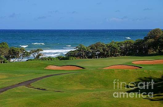 Mary Deal - Wailua Golf Course - Hole 17 - 1