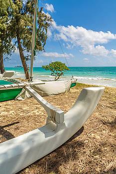 Waimanalo Catamaran 2 by Leigh Anne Meeks