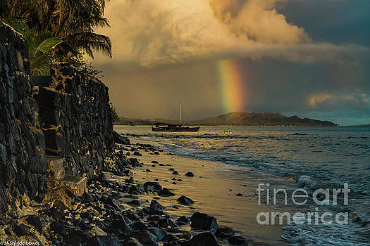 Waimanalo Rainbow by Mitch Shindelbower