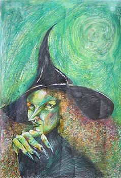 Waiting For Halloween by Brigitte Hintner
