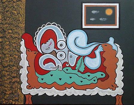 Waiting for Picasso by Catherine Velardo