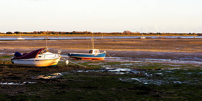 Waiting for the Tide by Trevor Wintle