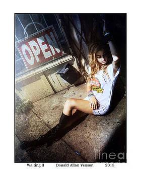 Waiting II by Donald Yenson