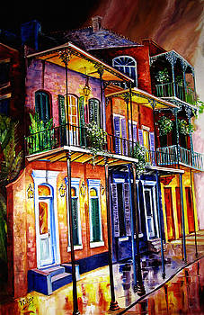Walk into the French Quarter by Diane Millsap