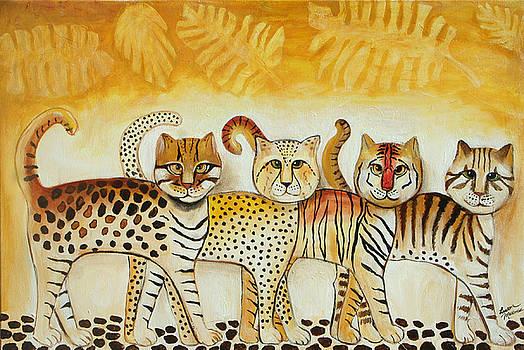 Walk on the wild side by Lauren  Marems
