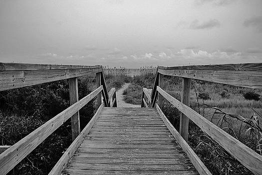 Walk To The Beach by Cynthia Guinn