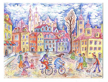 Walk with wheels by Milen Litchkov