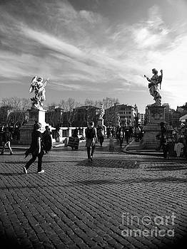 Walking around Rome by Stefano Senise