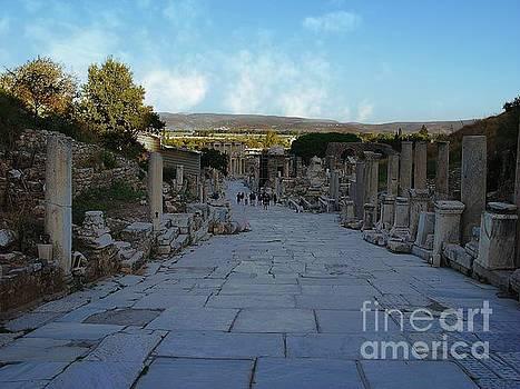 Walking in Ephesus by Don Kenworthy
