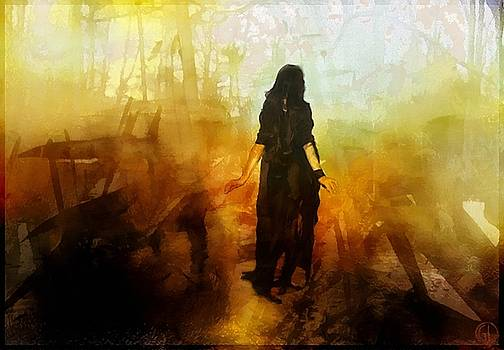 Walking out from chaos by Gun Legler