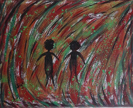 Walking Out of the Tunnel by Catherine Velardo