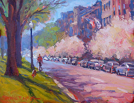 Walking the Dog by Dianne Panarelli Miller