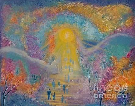 Walking to Eternity by Deyanira Harris