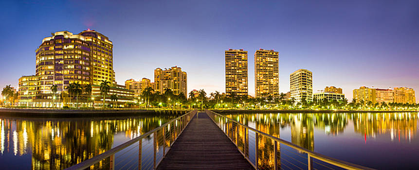 Debra and Dave Vanderlaan - Walking to West Palm Beach