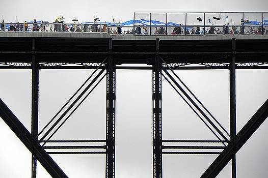 Walkway Over the Hudson 2009 Opening Day Celebration by Joseph Duba