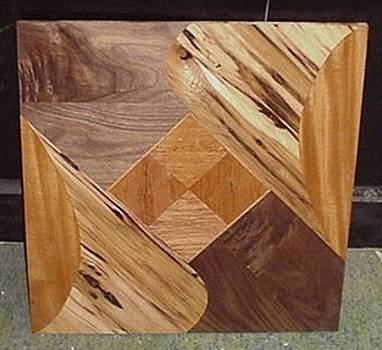 Wall panel or Music stand panel or cabinet door panel etc.  by G Peter Richards