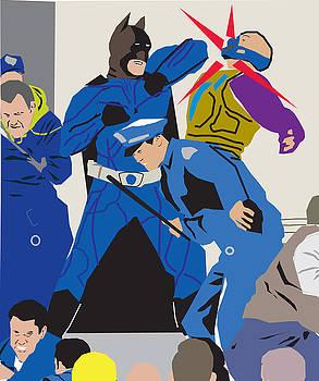 Wall street brawl by Michael Chatman