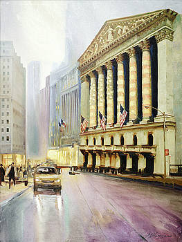 Wall Street Tribute by George Mamos