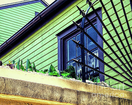 Walls and Glass - New Orleans by Kathleen K Parker