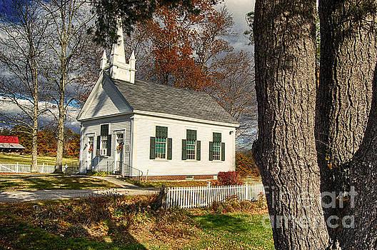 Walnut Grove Baptist Church1 by Mim White