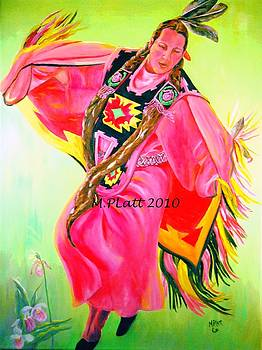 Wampanoag Woman by Margaret Platt