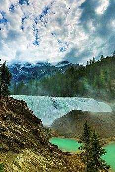 Wapta Falls 3 by Monte Arnold