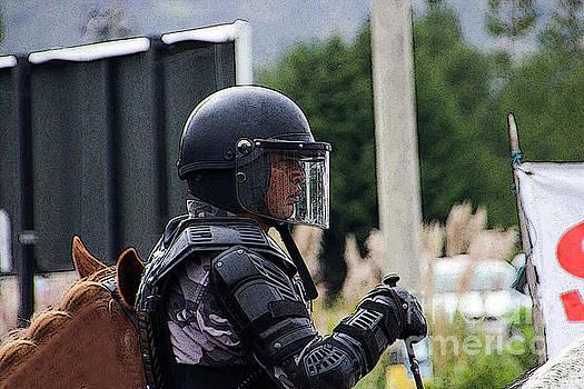War Horse III - Tarqui Protest by Al Bourassa